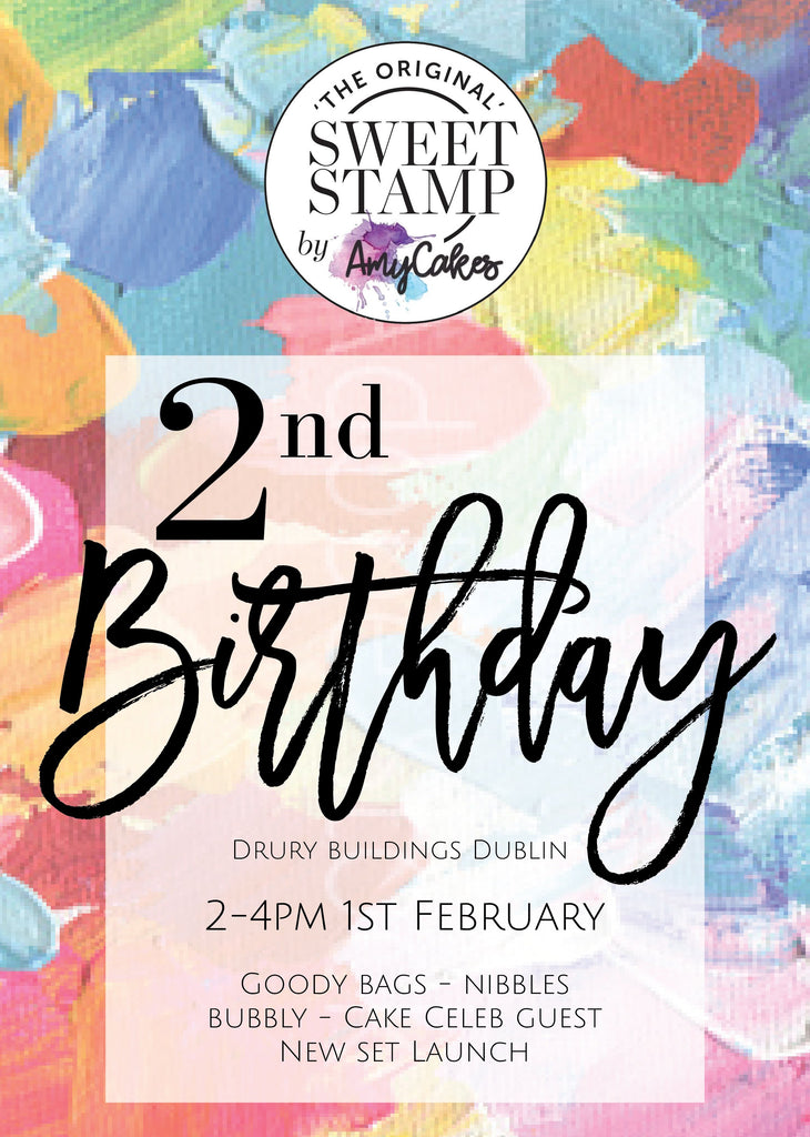 SweetStamp 2nd Birthday Party