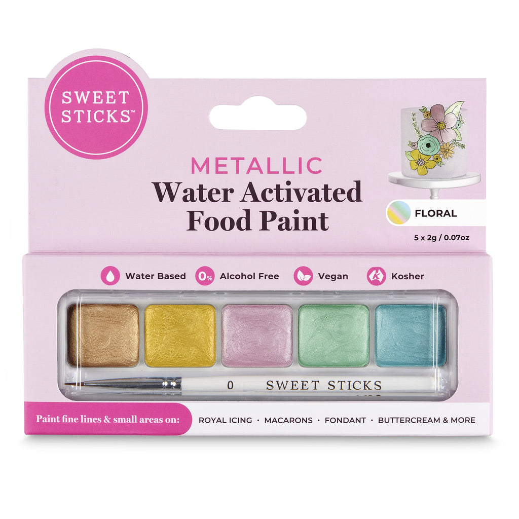 SweetSticks Water Activated Mini Palette - FLORAL