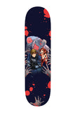 RE2 Inspired Skateboard Deck by InkyDandy