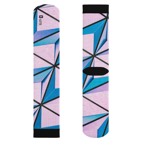 Geometric Socks - D-Lete Apparel