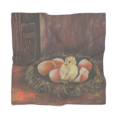 Poly Hatching Chicks Scarf - D-Lete Apparel