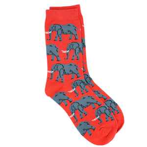 Ladies Bamboo Socks. Elephant Socks - MRS 101