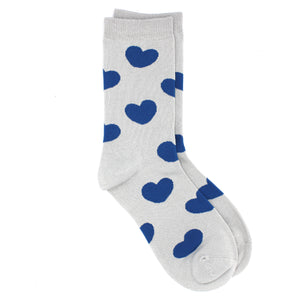 Ladies Bamboo Socks. Heart Socks - MRS 108