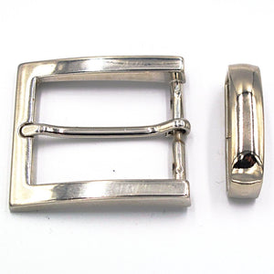 35mm Chrome Square Buckle