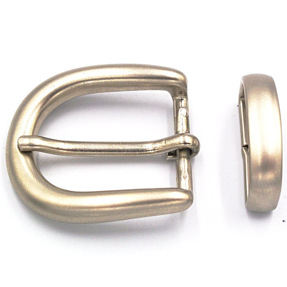 25mm Brushed Nickel Curve Buckle