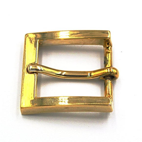 25mm Brass Square Buckle - Mark Russell Leather
