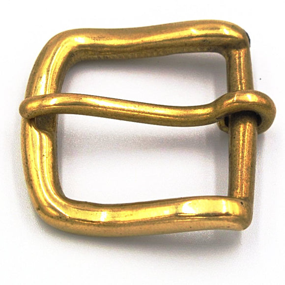 30mm Brass Square Buckle - Mark Russell Leather