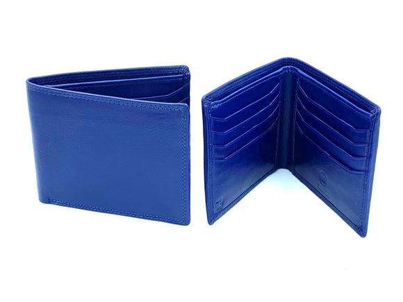 RFID Blocking Classic Wallet - MRL 6 - Navy - Mark Russell Leather