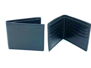 RFID Blocking Classic Wallet - MRL 6 - Black - Mark Russell Leather