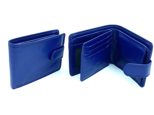 RFID Blocking Full Wallet - MRL 10 - Navy - Mark Russell Leather