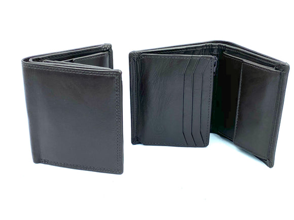RFID Blocking Coin Wallet - MRL 5 - Brown - Mark Russell Leather