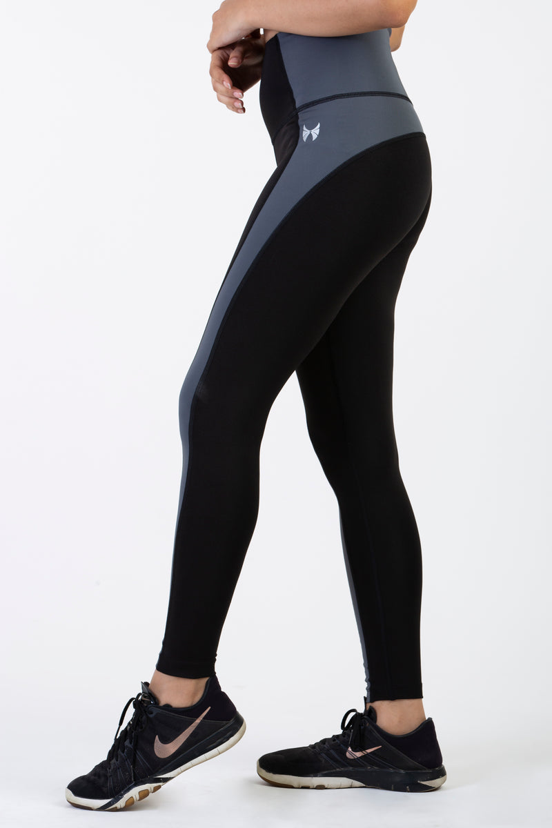 Skyria Viola Leggings- Pebble Grey