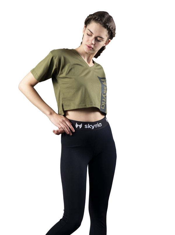 SKYRIA Crop Top, Activewear for Women