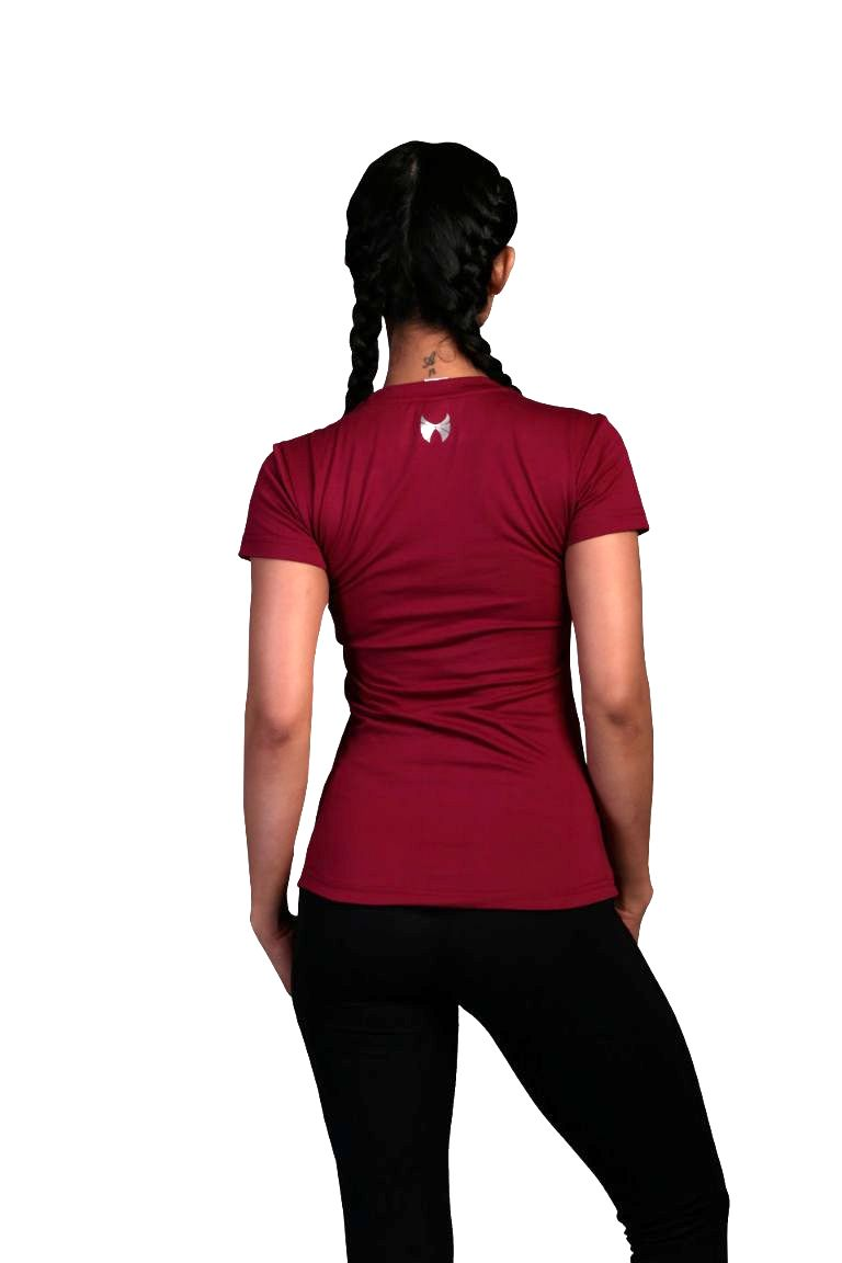Skyria Element Tee - Deep Plum