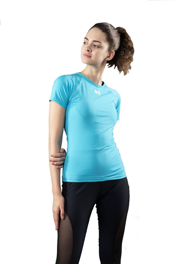 Skyria Evolve Top - Aqua