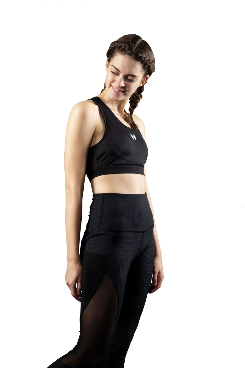 black gym wear for women