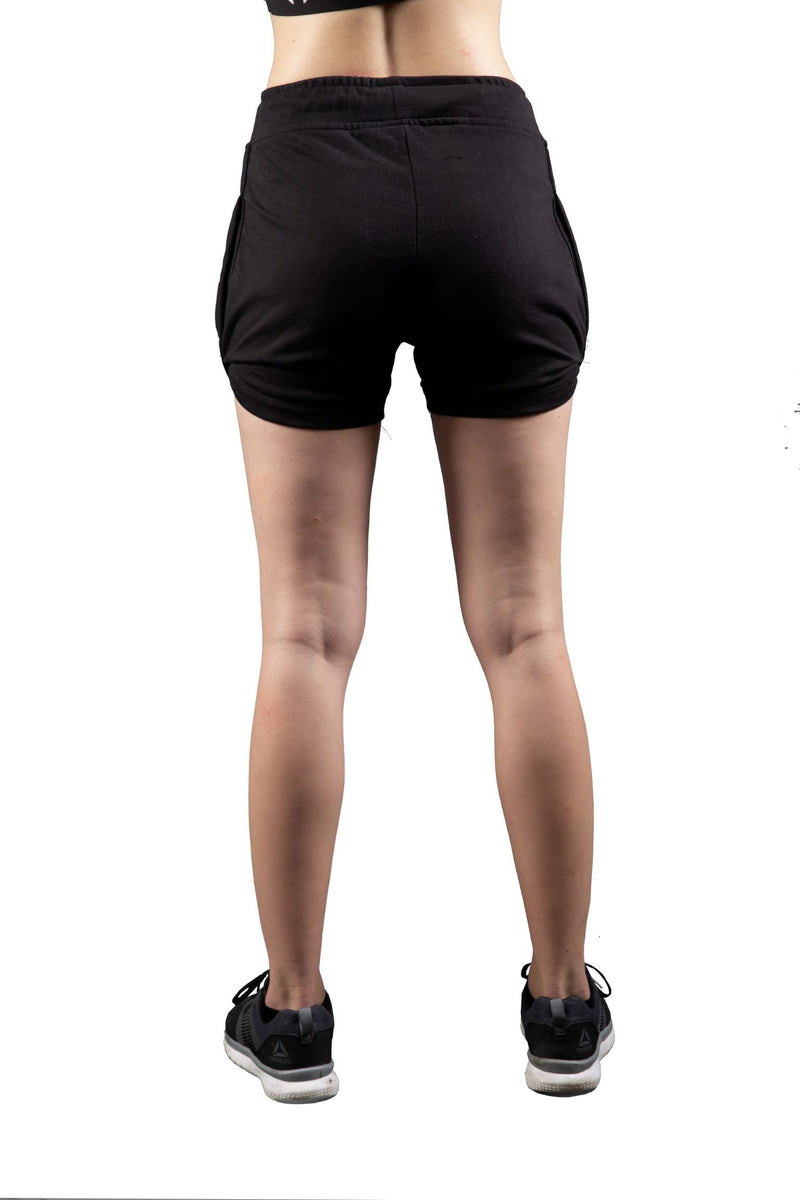 Skyria Tide Shorts - Ebony Black