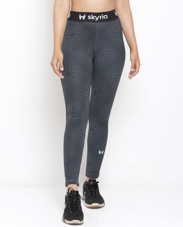 Skyria Mia Leggings - Nickel Black