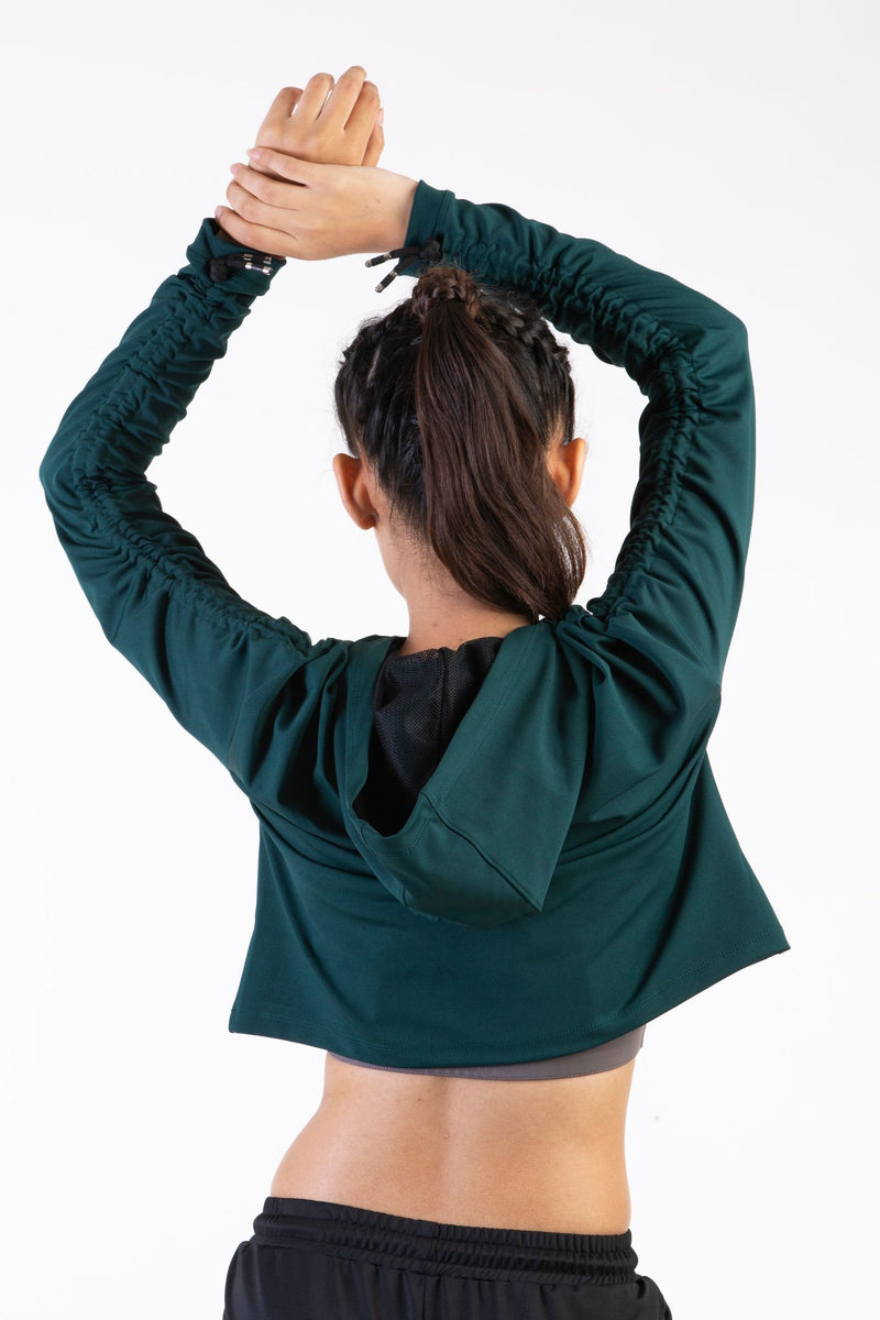 Full Sleeves Crop top for workout