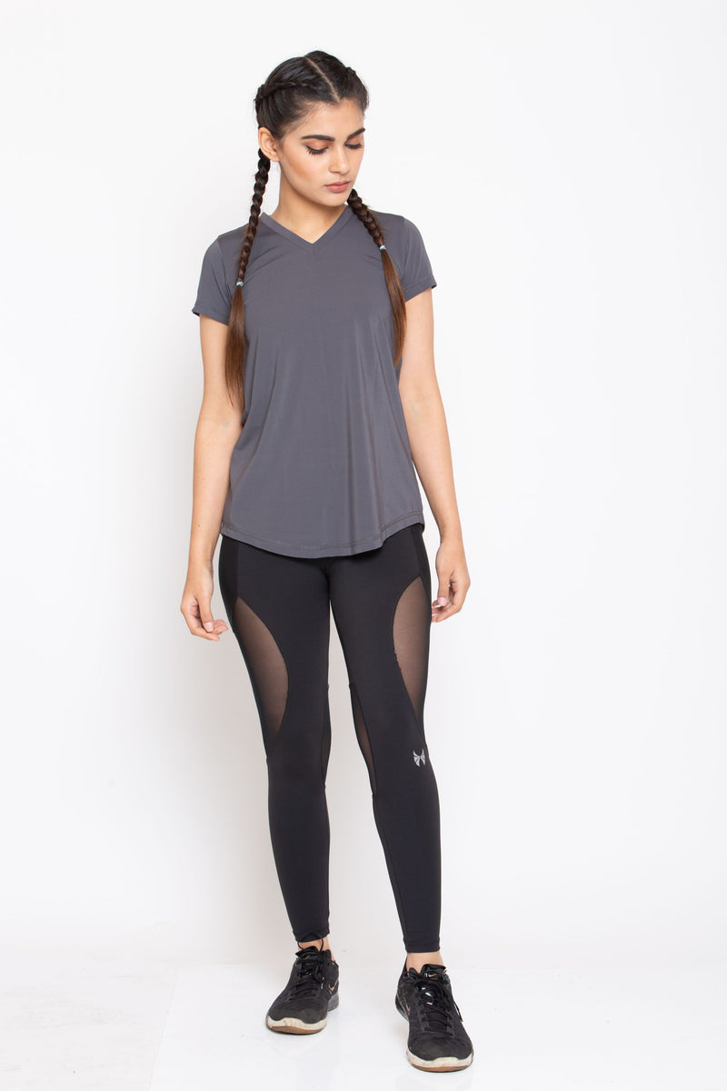 Skyria Esme Top- Forest Grey