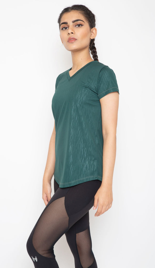 Skyria Esme Top - Fossil Green