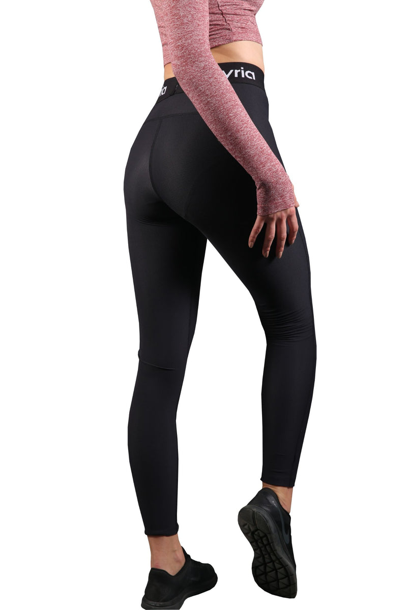 Black Slim Fit Leggings for gym