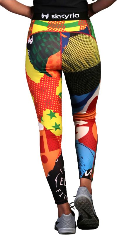 Skyria Mia Legging - Pop