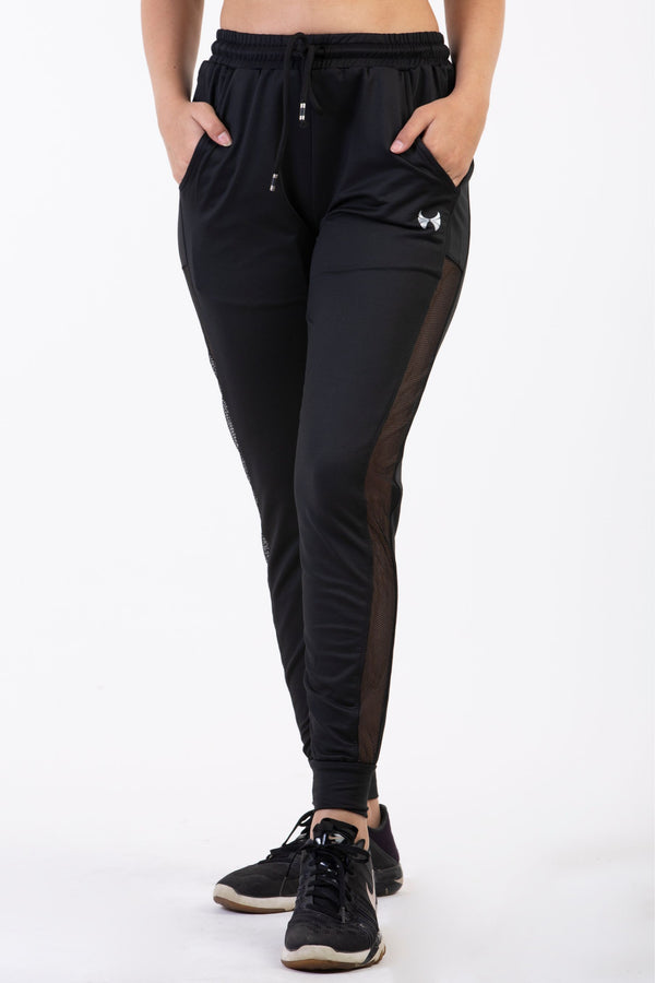 black joggers for ladies