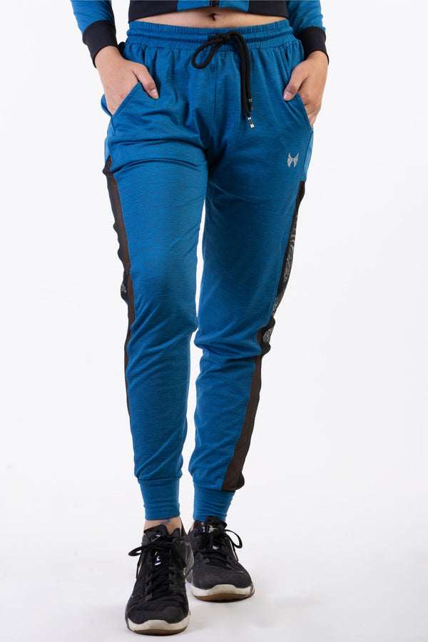 Blue Joggers Track Pants for women