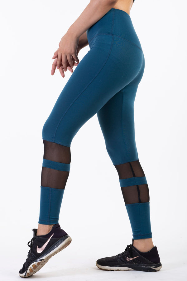 blue sports wear for ladies