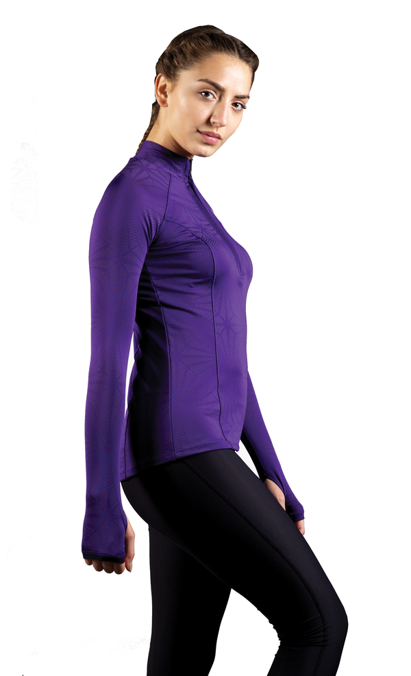 Skyria Hera Long Sleeve Pullover - Regal Purple