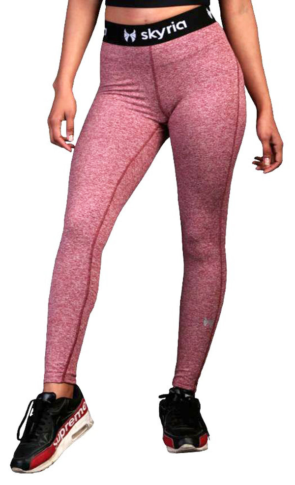Skyria Mia Legging - Red Melange