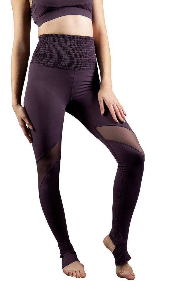 Skyria Smock It To Me Legging- Grape