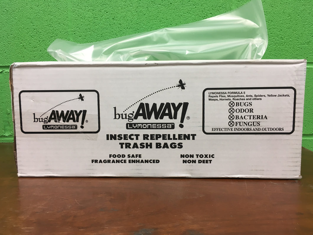 INSECT REPELLENT BugAWAY Bags CLEAR 40x46