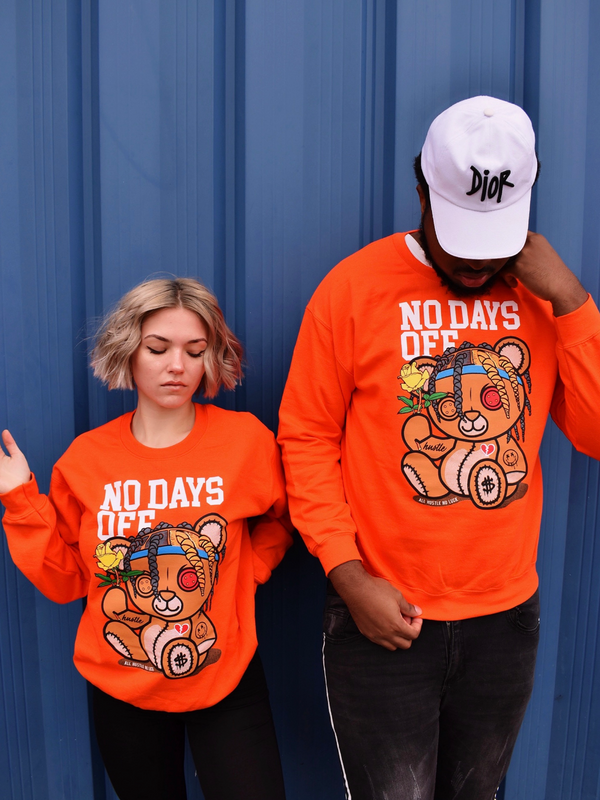 No Days Off Crewneck