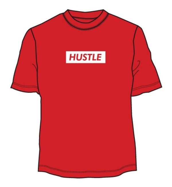 """Hustle"" Box Tee"