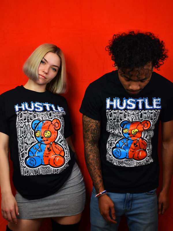 Hustle Bear Tee