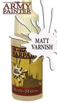 Warpaint - Anti-Shine Matt Varnish