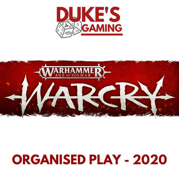 05 TICKET: 12th September 2020 - WarCry Organised Play: Q2