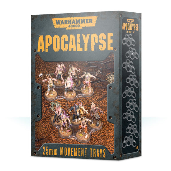 WARHAMMER 40000: APOCALYPSE MOVEMENT TRAYS (25MM)