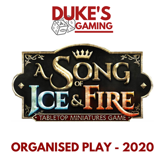 10 TICKET: 10th October 2020 - A Song of Ice and Fire