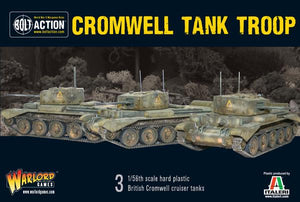 British Tank Troop (3 Cromwells)