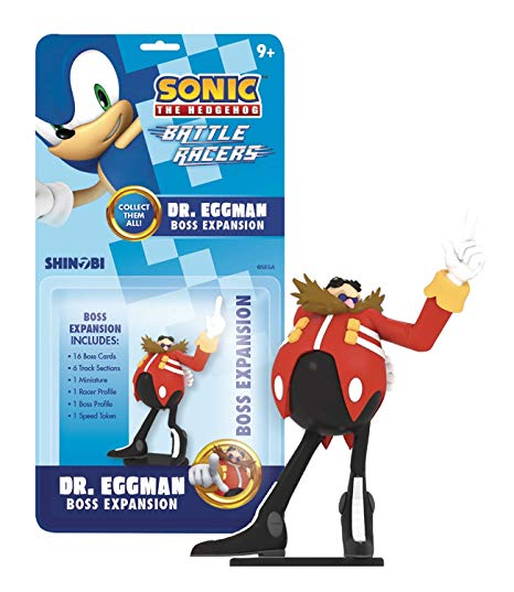Sonic the Hedgehog: Battle Racers Boss Expansion Dr Eggman