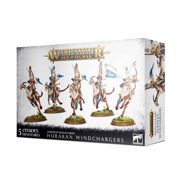 Age of Sigmar:  Lumineth Realm-Lords: Hurakan Windchargers