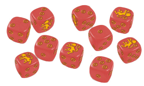 Lannister Dice: A Song Of Ice and Fire Exp.