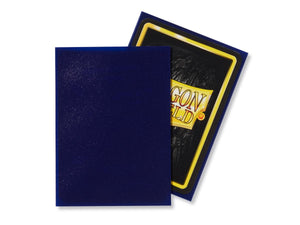 Dragon Shield 100 Standard Size Sleeves - Night Blue Matte