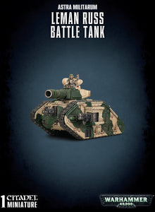 ASTRA MILITARUM LEMAN RUSS BATTLE TANK