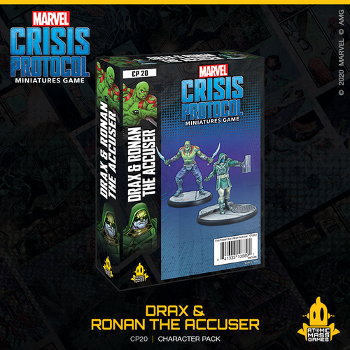 Marvel Crisis Protocol: Drax & Ronin the Accuser