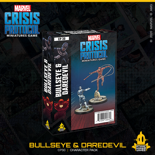 Marvel Crisis Protocol: Daredevil and Bullseye