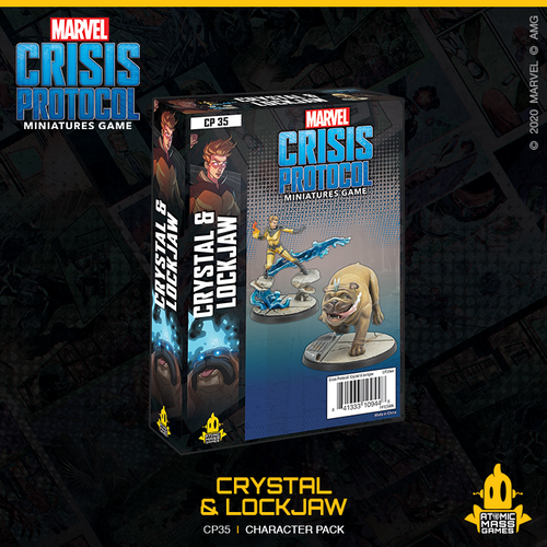 Marvel Crisis Protocol: Crystal & Lockjaw
